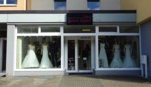 Foto des Brautmodenladens in der Lange Straße 97